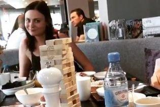 Фанатка Кличка зняла кумедне відео на фоні Володимира, який снідав