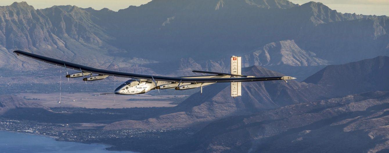 Сорок тисяч кілометрів на сонячній енергії: що відомо про літак Solar Impulse 2. Інфографіка