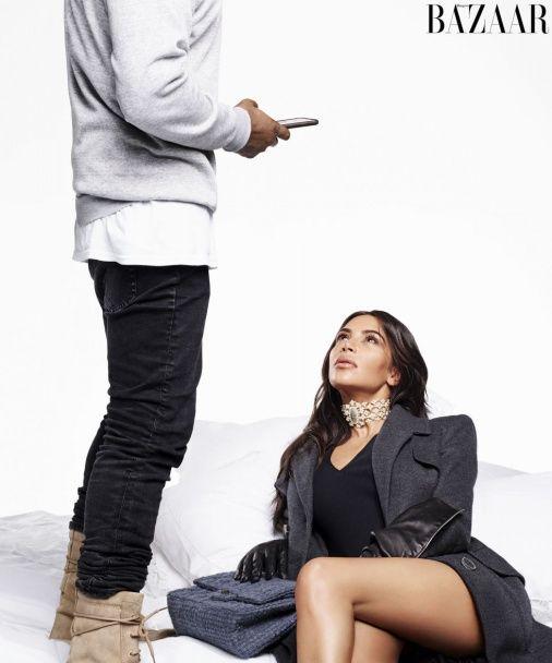 Кім Кардашян та Каньє Вест знялися у пікантній фотосесії