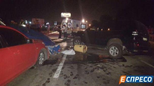 Зі стріляниною та переслідуванням. У Києві п'яний водій влаштував масштабну ДТП