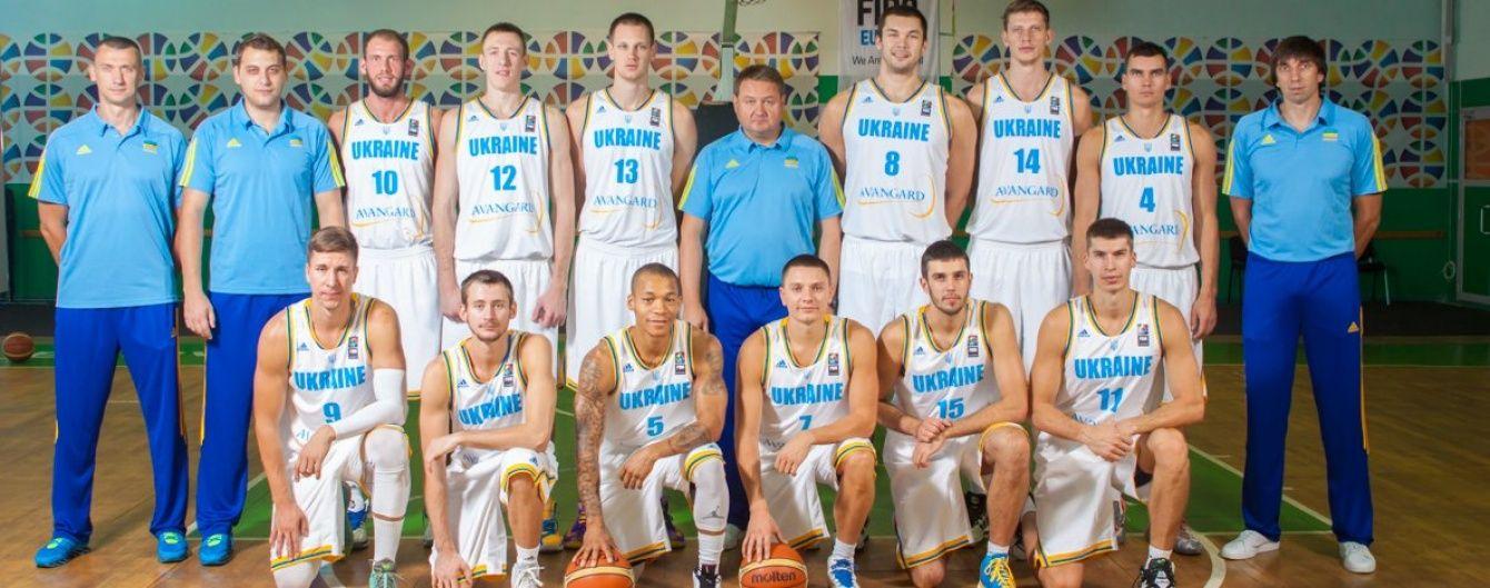 Українська збірна з баскетболу назвала склад на товариські матчі проти німців