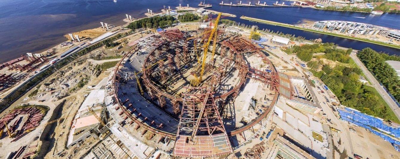 ФІФА вимагає у росіян пояснити зупинку будівництва стадіону ЧС-2018