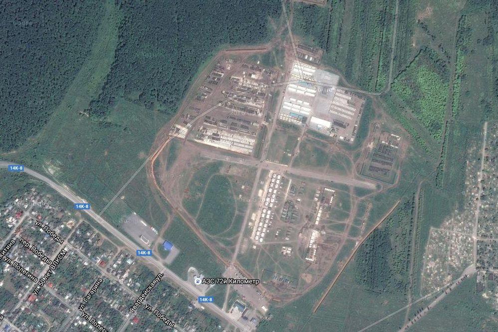 Військова база РФ у Валуйках Білогородська область