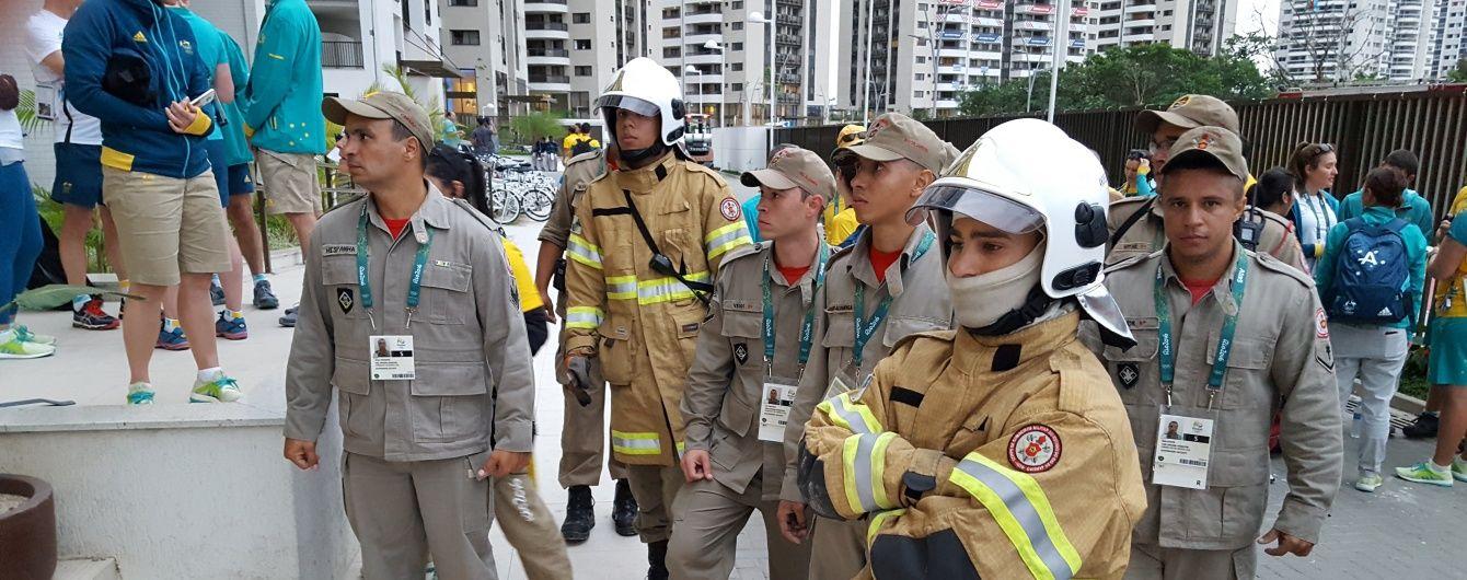 В Олімпійському селищі сталася пожежа