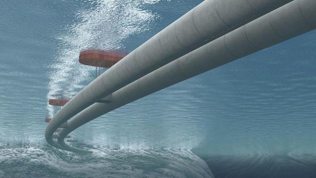 Проект підводного тунелю в Норвегії
