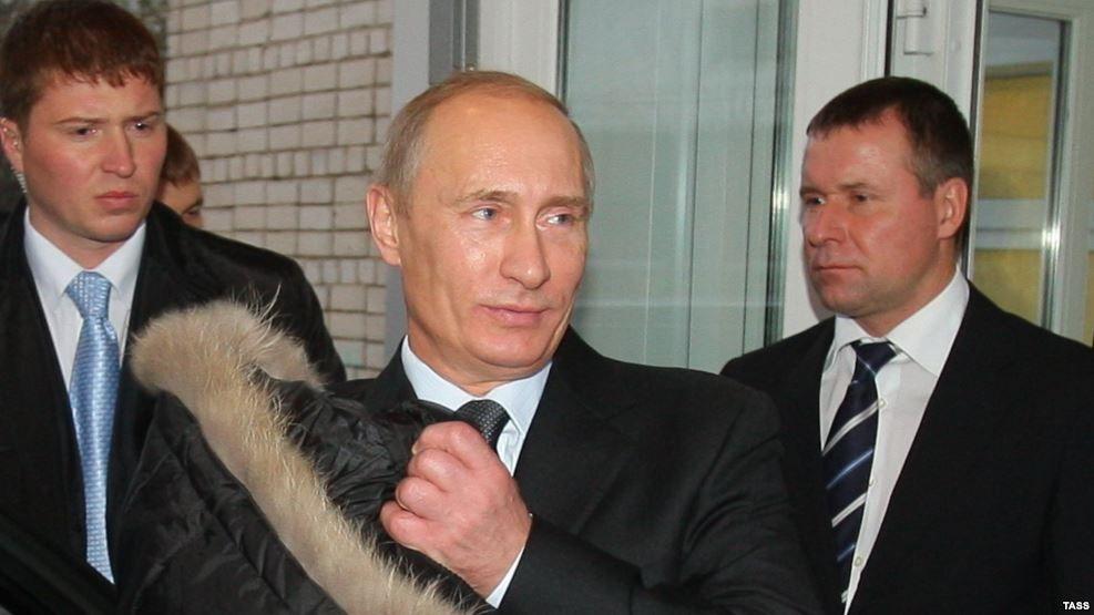 Володимир Путін, Євген Зінічев, архівне фото