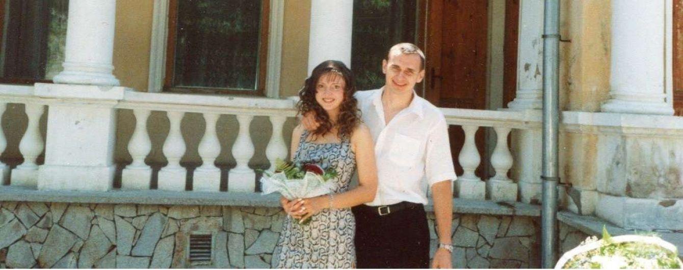 Дружина Сенцова вирішила розлучитися з чоловіком