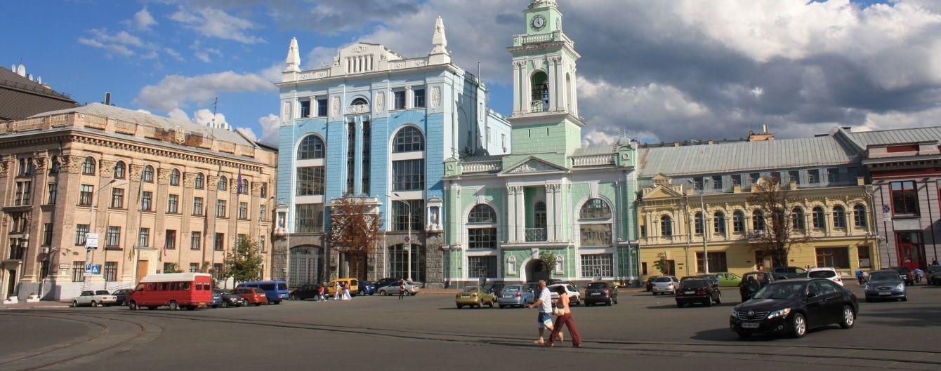 У неділю в Києві перекриють Контрактову площу і тимчасово змінять рух транспорту. Мапа