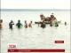 Переяславські активісти перепливли Канівське водосховище, аби вшанувати пам'ять про Тараса Шевченка