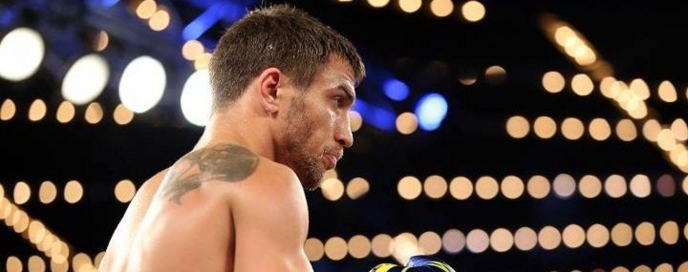 Ломаченко назвав реванш із Салідо своїм найближчим завданням