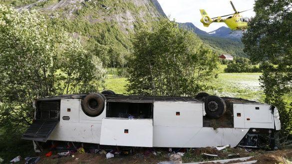 Аварія автобуса в Норвегії