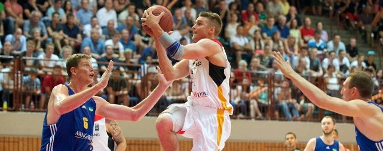 Баскетбольна збірна України перестріляла німців у товариському матчі
