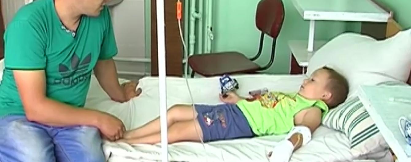 У Вінницькій області батько врятував 4-річного сина, коли з його руки йшов дим через струм