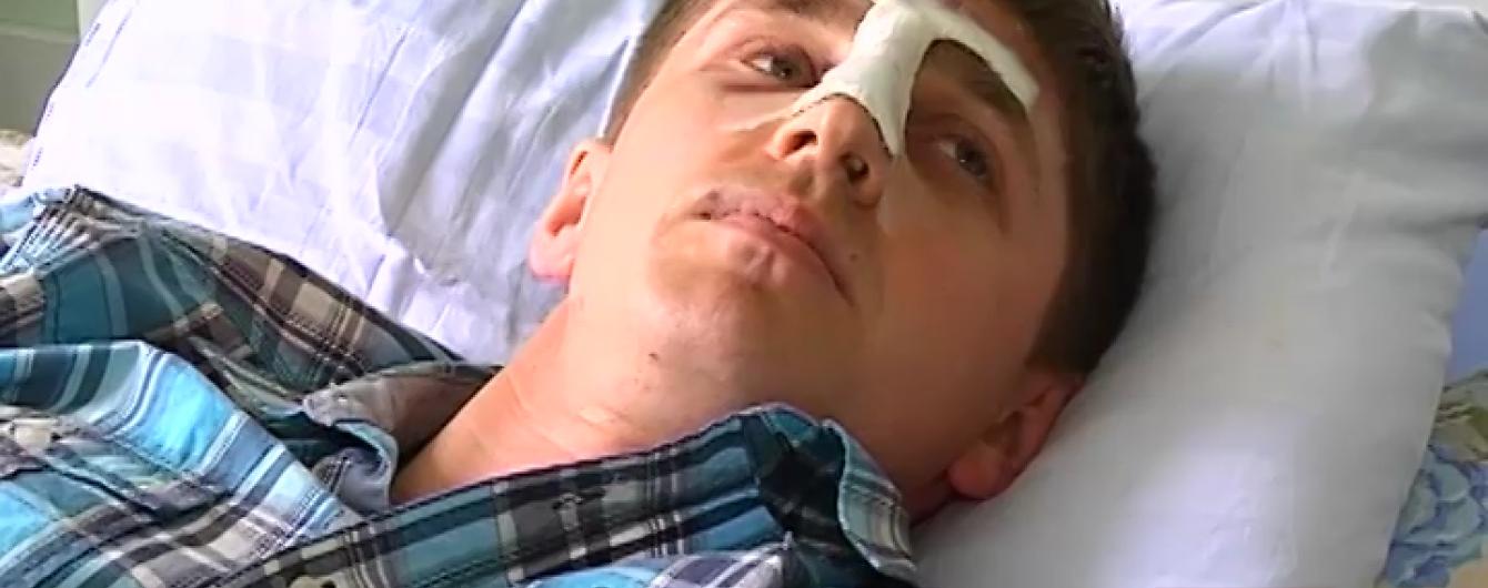 У Житомирі рідний хворого побив лікаря, бо той не пускав до реанімації