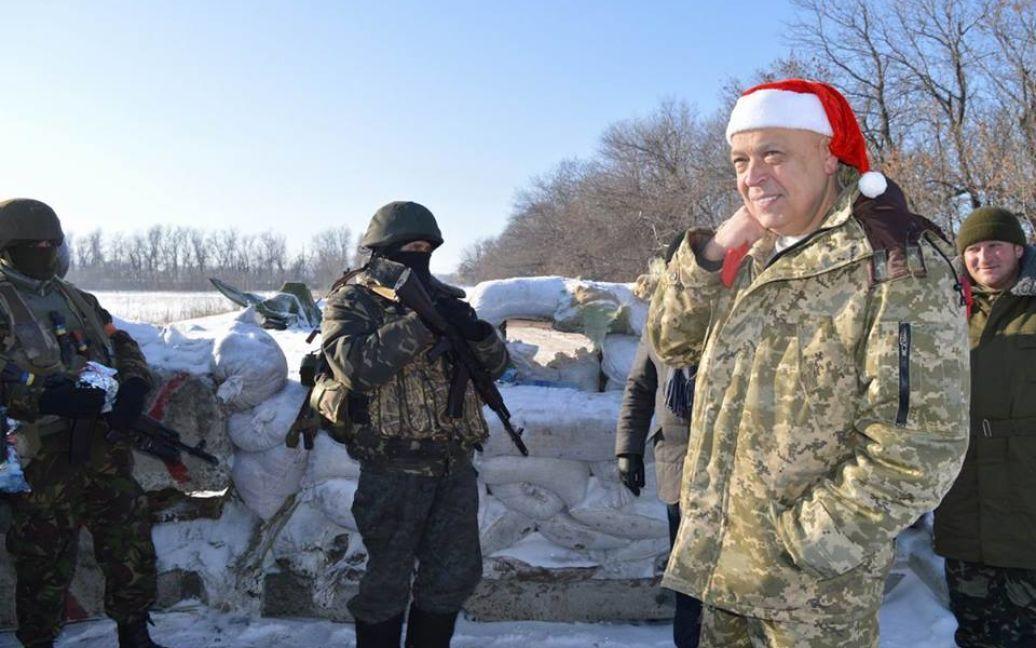 Москаль відреагував на запит Плотницького: не стріляйте перші - і буде вам тиша / © vk.com/Марина Желямова