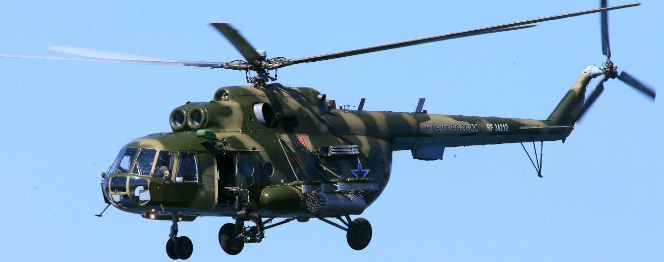 На админгранице с Крымом пограничники зафиксировали 9 вертолетов Вооруженных сил РФ