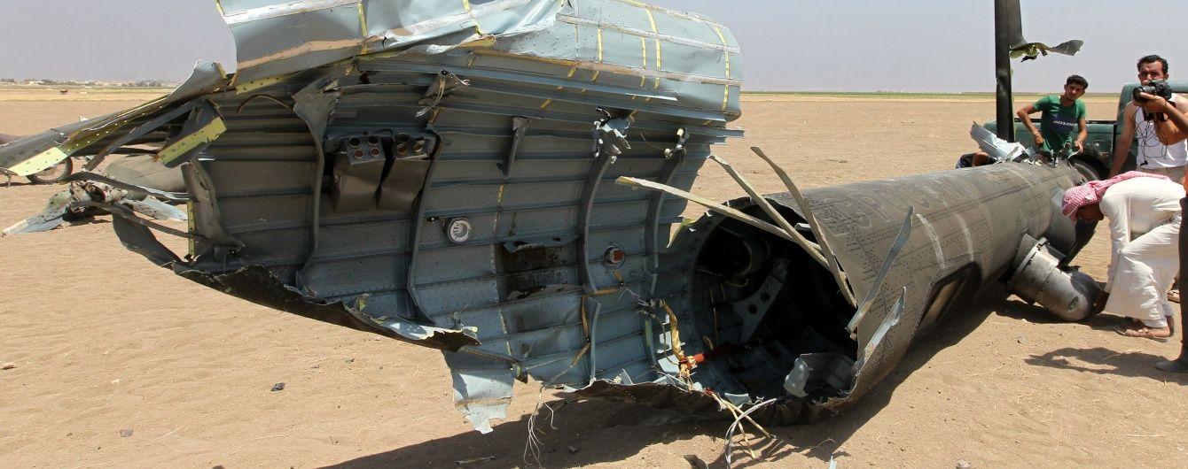 У Мережі з'явилося відео авіаудару по району катастрофи російського Мі-8 в Сирії