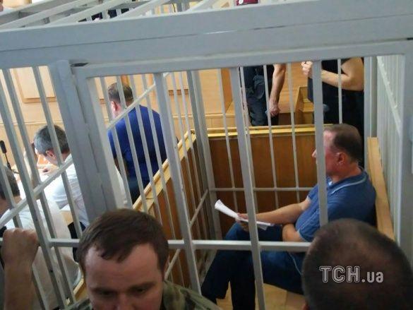 Олександр Єфремов на суді 1.08.2016