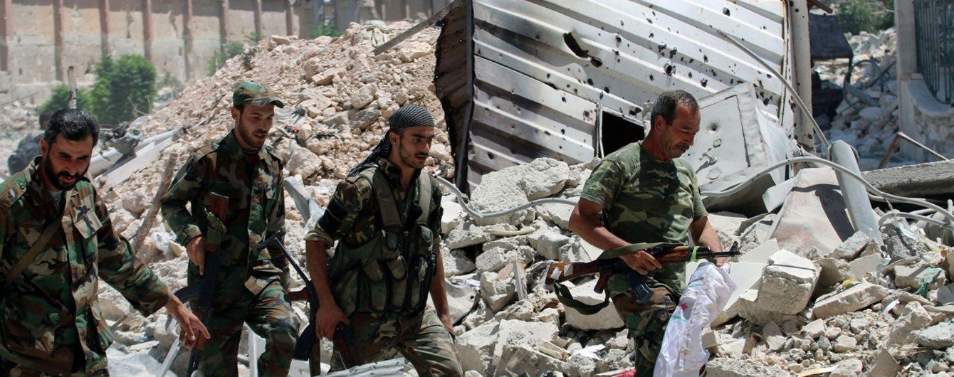 Літаки міжнародної коаліції розбомбили базу військ Асада - Міноборони РФ