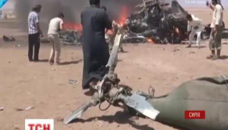 В Сирии повстанцы сбили российский вертолет