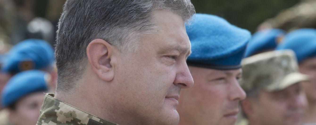 З полону бойовиків незабаром можуть звільнити українця-інваліда - Порошенко