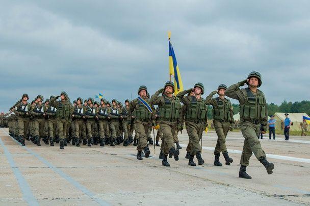 Під Києвом пройшла перша загальновійськова репетиція до Маршу Незалежності України