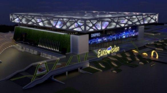 Євробачення арена Дніпро