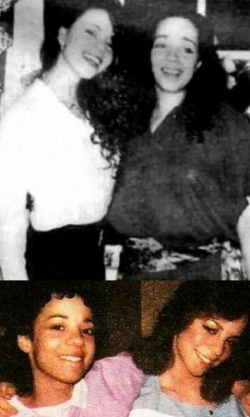 Мэрайя Кэри с сестрой