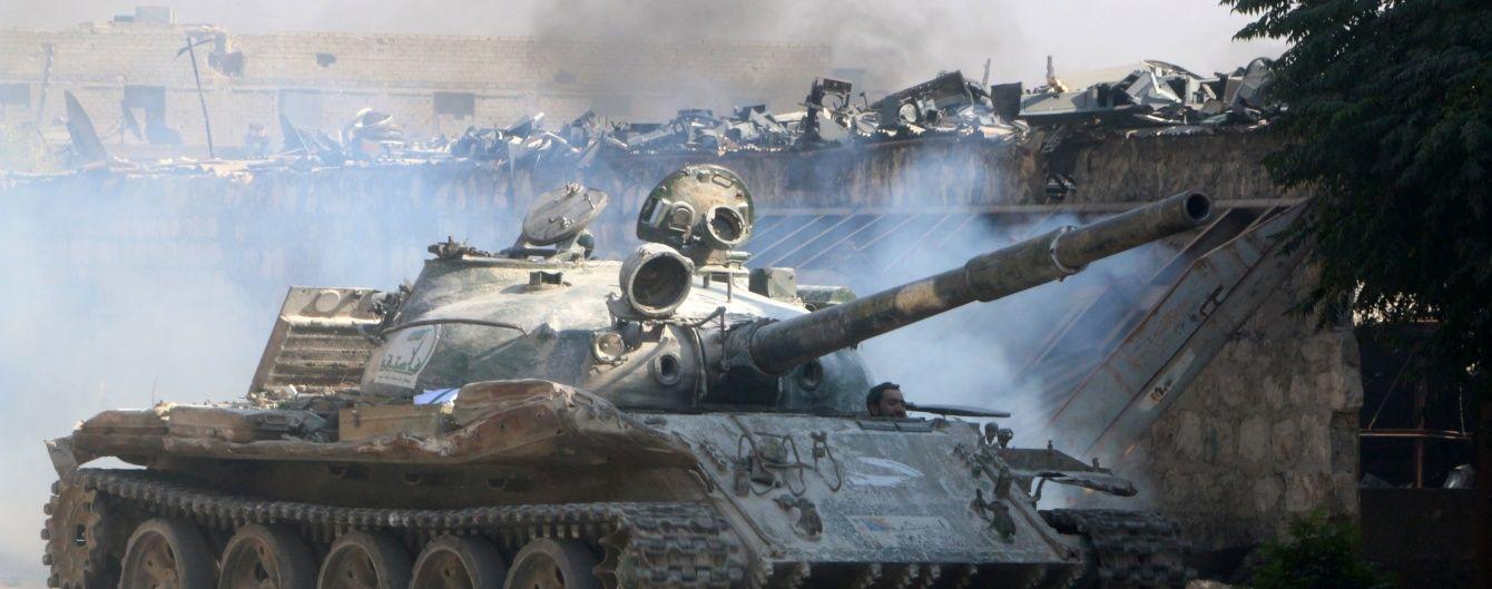 В Алеппо сирійська армія перейшла в наступ