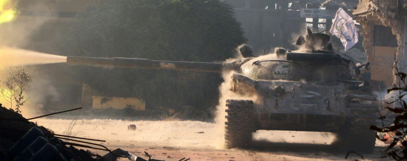 Авіація Асада вперше скинула бомби на турецьких повстанців - Associated Press
