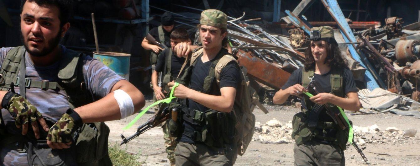 Сирійські повстанці звільнили від ІД кілька селищ поблизу кордону з Туреччиною