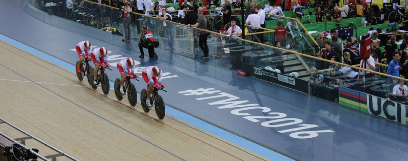 Трьох російських велосипедистів виселили з Олімпійського селища
