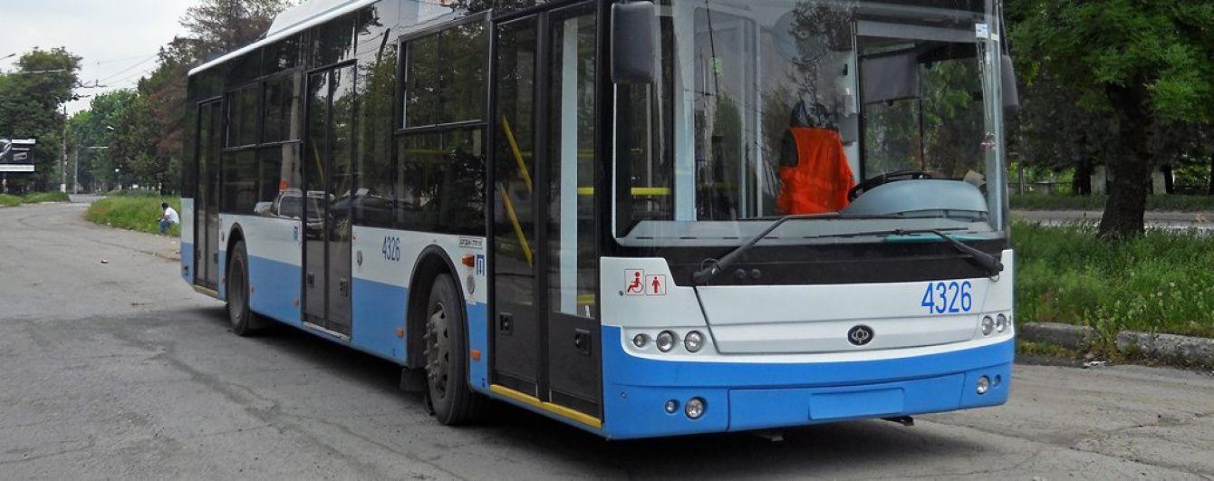 У Сімферополі водіям тролейбусів накладають абсурдні штрафи, працівники страйкують