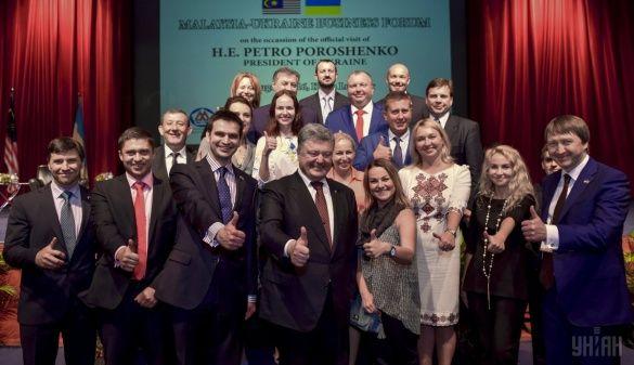 Петро Порошенко на українсько-малайзійському бізнес-форумі