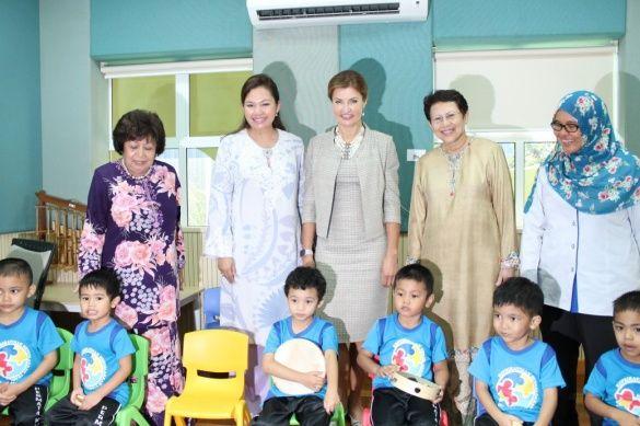 Марина Порошенко у Малайзії, Центр дитячого розвитку для дітей з аутизмом