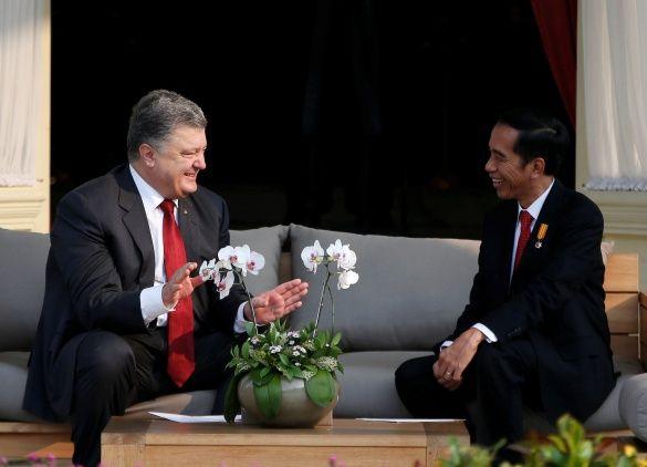 порошенко в індонезії
