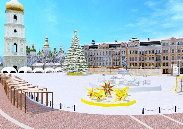 Свято наближається. Презентовано концепцію головної ялинки країни та святкування Нового року