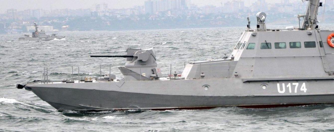 У Чорному морі випробовують два нових українських бронекатери