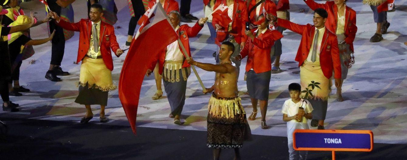 Оголений прапороносець зірвав овації на відкритті Олімпіади-2016