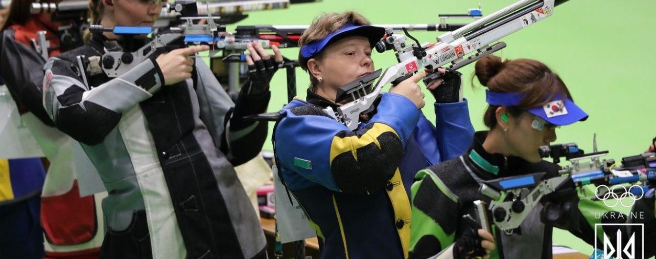 Українка зупинилася за крок до фіналу Олімпіади-2016 у стрільбі з пневматичної гвинтівки