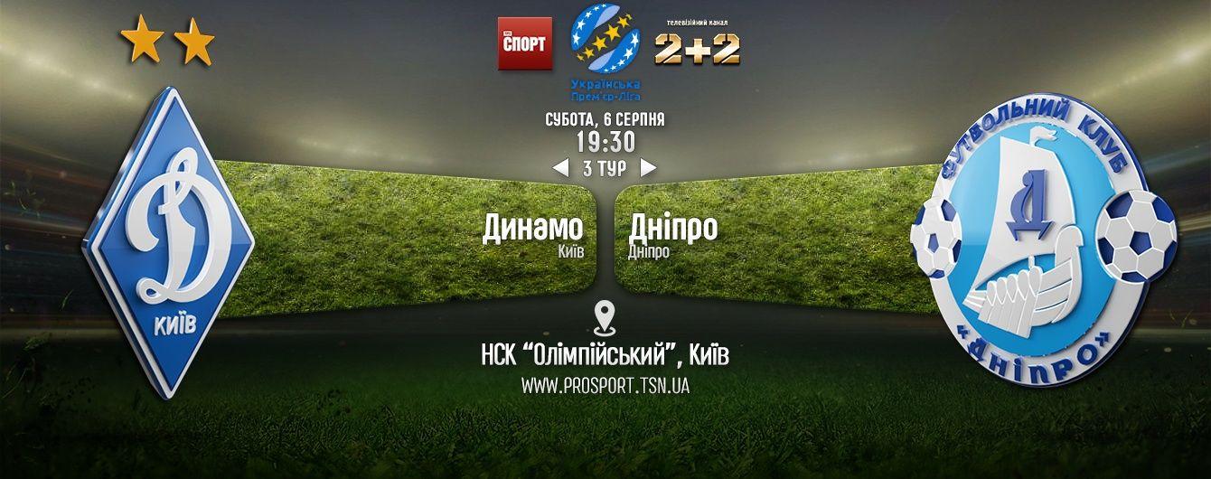 Динамо - Дніпро - 1:0. Відео матчу