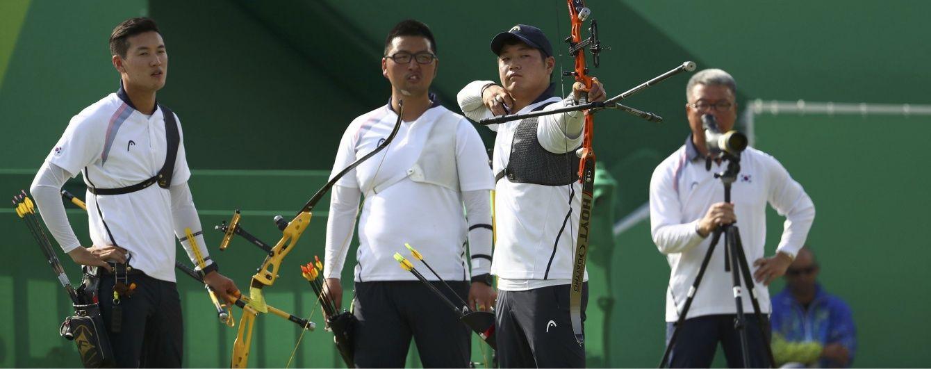 """Стрільба з лука. Південна Корея розбила США у """"золотій"""" битві Олімпіади-2016"""