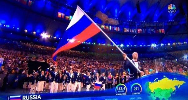 На церемонії відкриття Олімпіади Крим показали українським, окупанти лютують