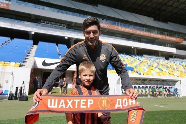 """""""Шахтар"""" провів тренування з дітьми перед матчем третього туру чемпіонату України"""