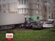 Фура без водія протаранила автомобілі та будівлі у Хмельницькому