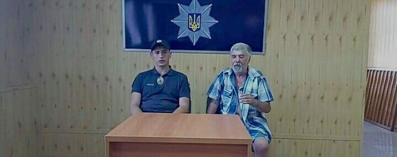 У Краматорську розповіли, за яких обставин поліцейський зробив селфі із закривавленим пенсіонером