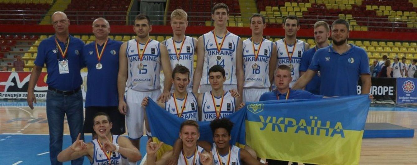 Українські юніори програли у фіналі Євробаскету U-18