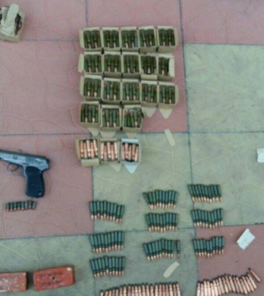 У Києві виявили чималий арсенал зброї та боєприпасів