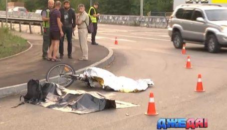 На столичной Кольцевой самосвал раздавил велосипедиста