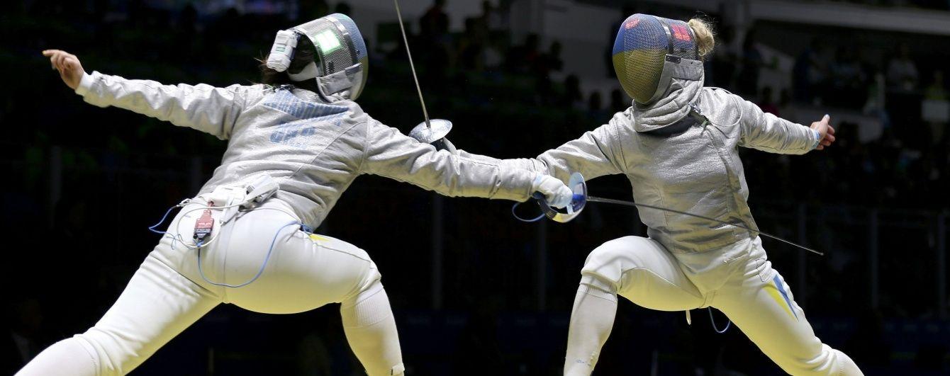 Шаблістка Харлан виграла український бій за чвертьфінал Олімпійських ігор